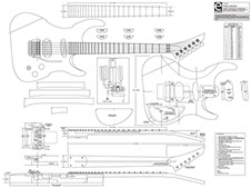 Sample custom guitar plan