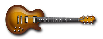 Single cutaway electric guitar